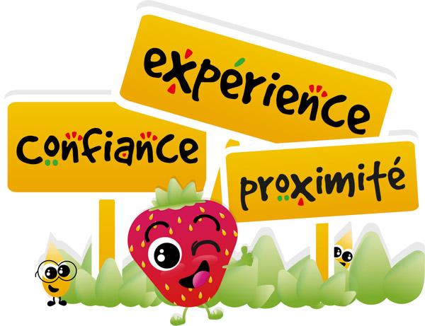 Confiance, expérience et proximité voici les valeurs de Graines de fraise
