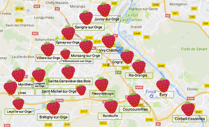 L'agence Graines de fraise intervient sur Sainte-Geneviève-des-bois et son agglomération