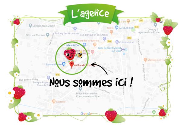 L'agence Graines de fraise à Saint-Michel-sur-Orge
