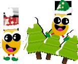 Les ptites graines de fraise fêtent Noël