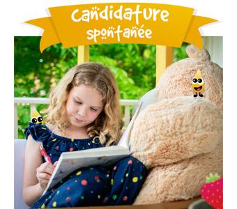 postulez en candidature spontanée chez Graines de fraise, garde d'enfants à domicile en Essonne